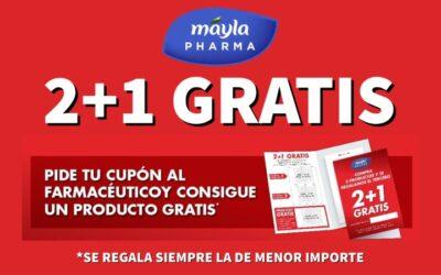 PROMOCIÓN MAYLA 2+1 GRATIS